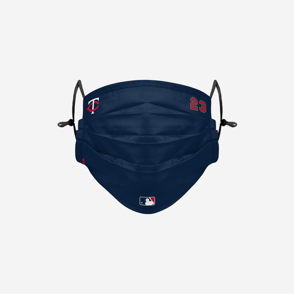 Nelson Cruz Minnesota Twins On-Field Gameday Adjustable Face Cover FOCO - FOCO.com