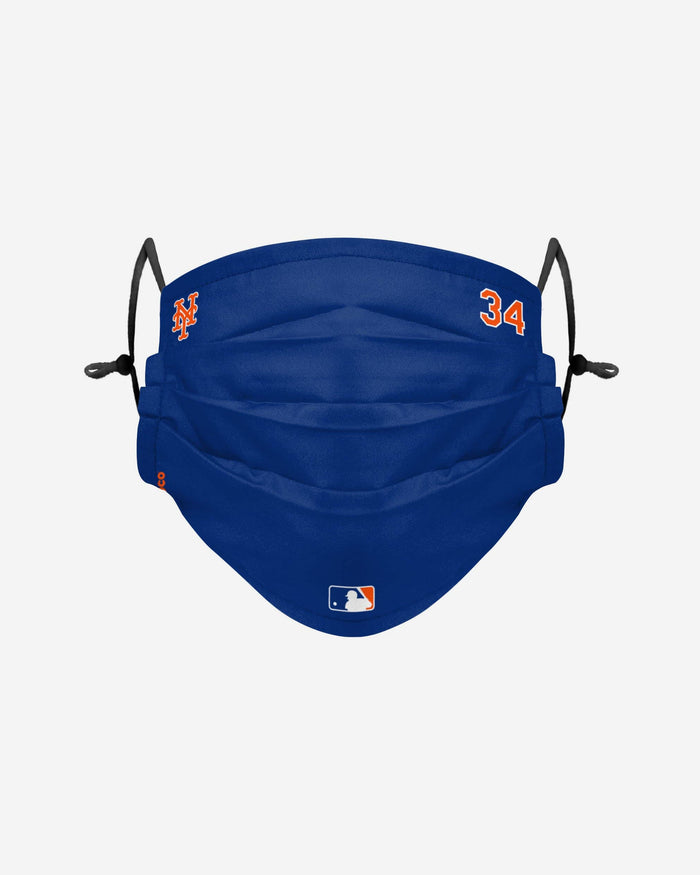 Noah Syndergaard New York Mets On-Field Gameday Adjustable Face Cover FOCO - FOCO.com