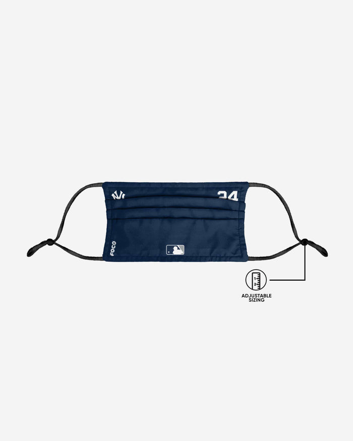 Gary Sanchez New York Yankees On-Field Gameday Adjustable Face Cover FOCO - FOCO.com