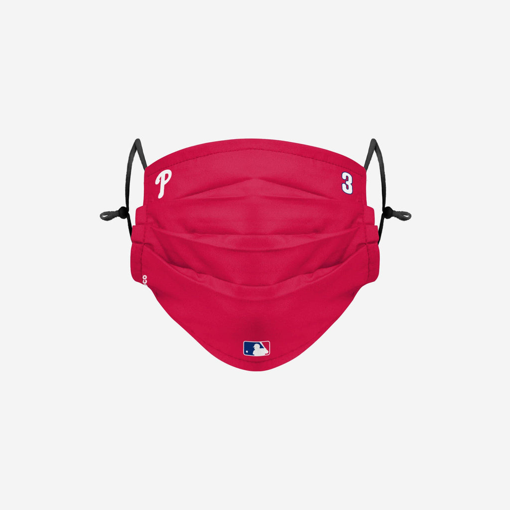 Bryce Harper Philadelphia Phillies On-Field Gameday Adjustable Face Cover FOCO - FOCO.com