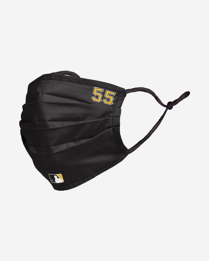 Josh Bell Pittsburgh Pirates On-Field Gameday Adjustable Face Cover FOCO - FOCO.com