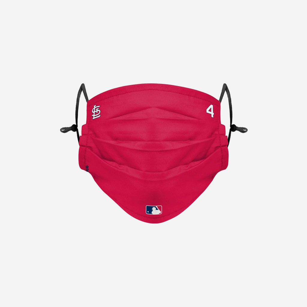 Yadier Molina St Louis Cardinals On-Field Gameday Adjustable Face Cover FOCO - FOCO.com