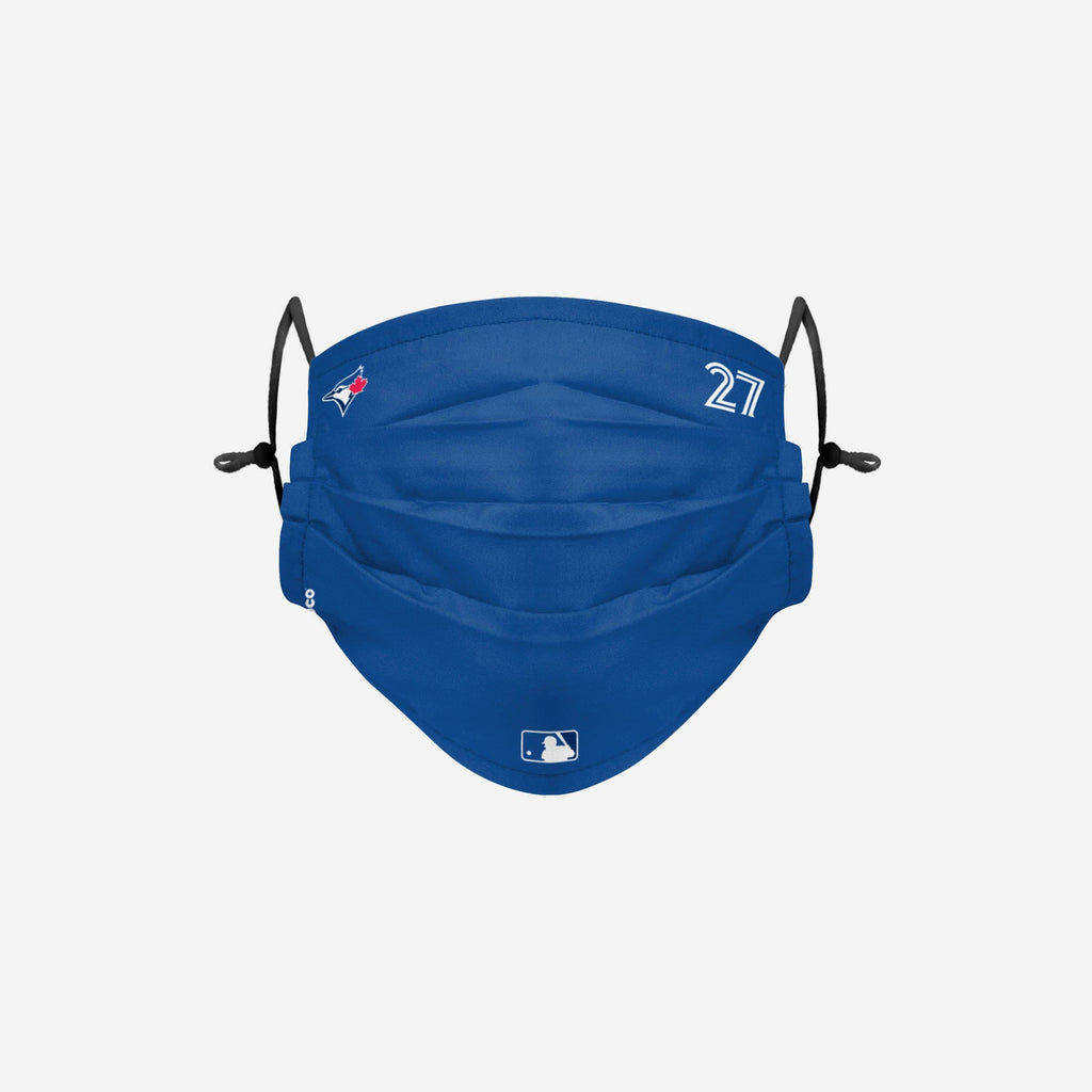 Vladimir Guerrero Jr Toronto Blue Jays On-Field Gameday Adjustable Face Cover FOCO - FOCO.com