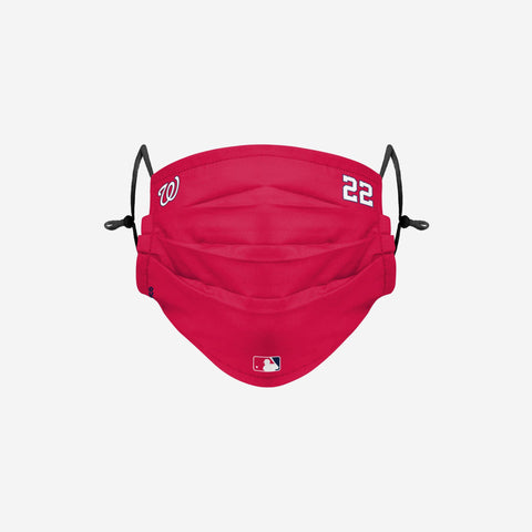 Juan Soto Washington Nationals On-Field Gameday Adjustable Face Cover