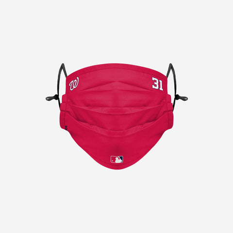 Max Scherzer Washington Nationals On-Field Gameday Adjustable Face Cover