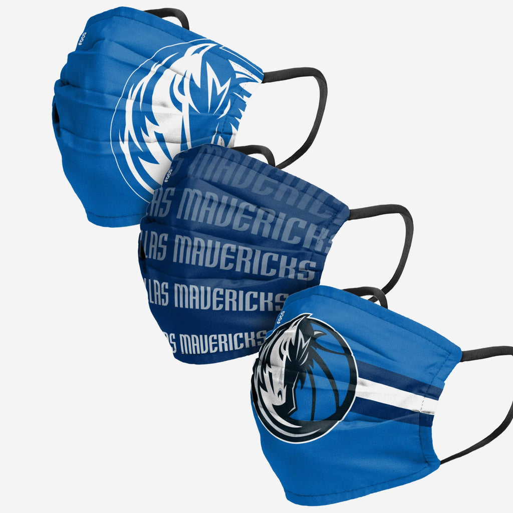 Dallas Mavericks Matchday 3 Pack Face Cover FOCO - FOCO.com