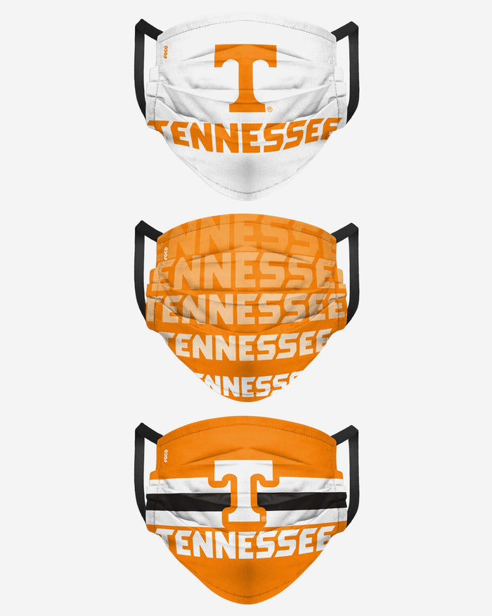 Tennessee Volunteers Matchday 3 Pack Face Cover FOCO - FOCO.com