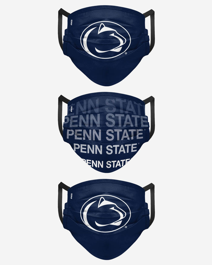 Penn State Nittany Lions Matchday 3 Pack Face Cover FOCO - FOCO.com