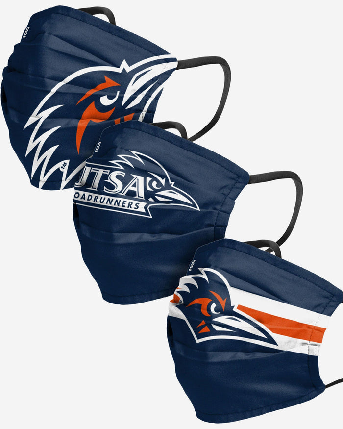 UTSA Roadrunners Matchday 3 Pack Face Cover FOCO - FOCO.com