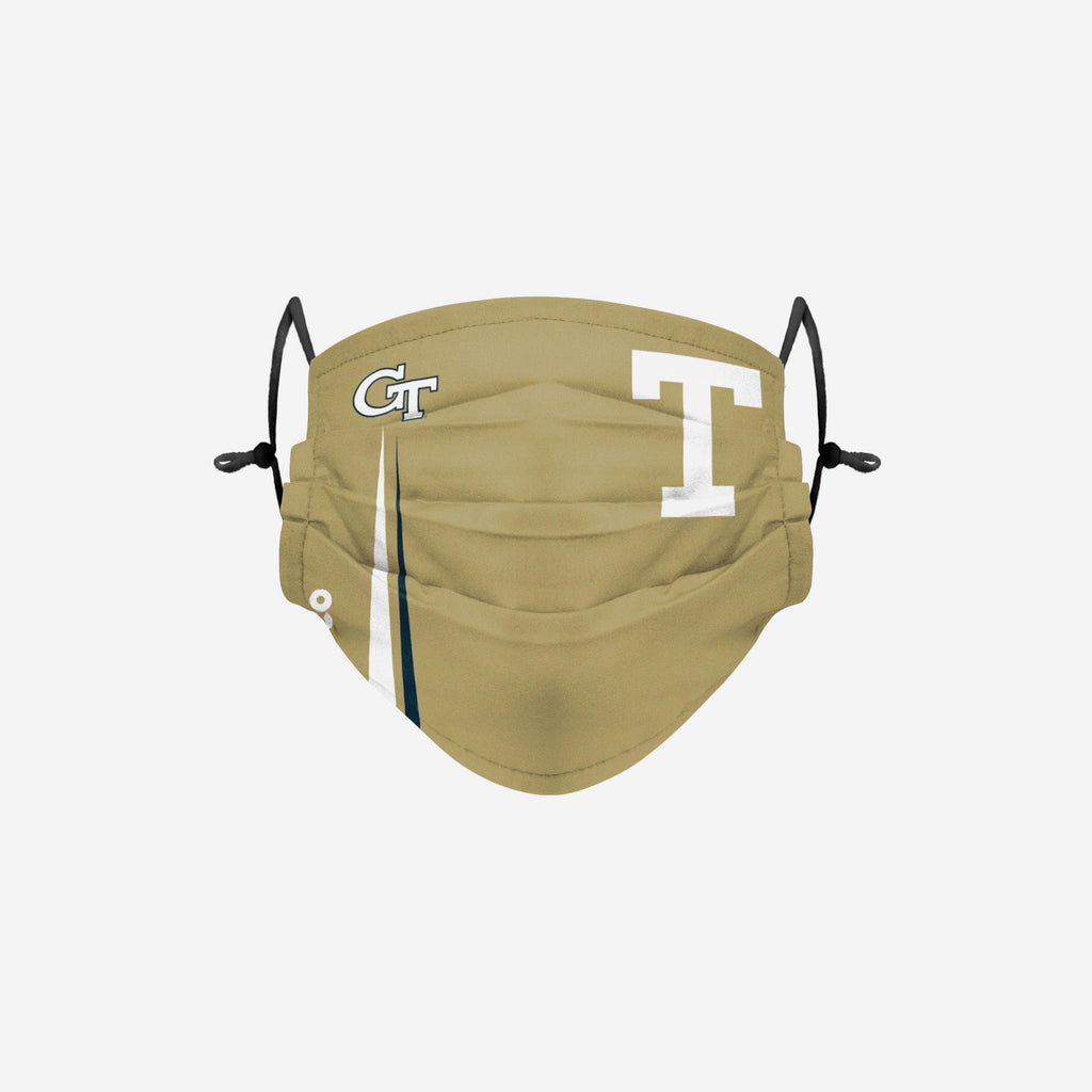 Georgia Tech Yellow Jackets On-Field Sideline Logo Alternative Face Cover FOCO - FOCO.com