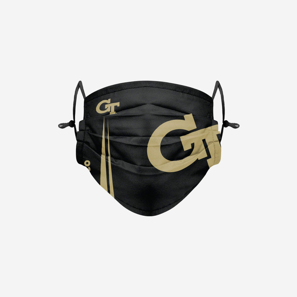 Georgia Tech Yellow Jackets On-Field Sideline Logo Black Face Cover FOCO - FOCO.com