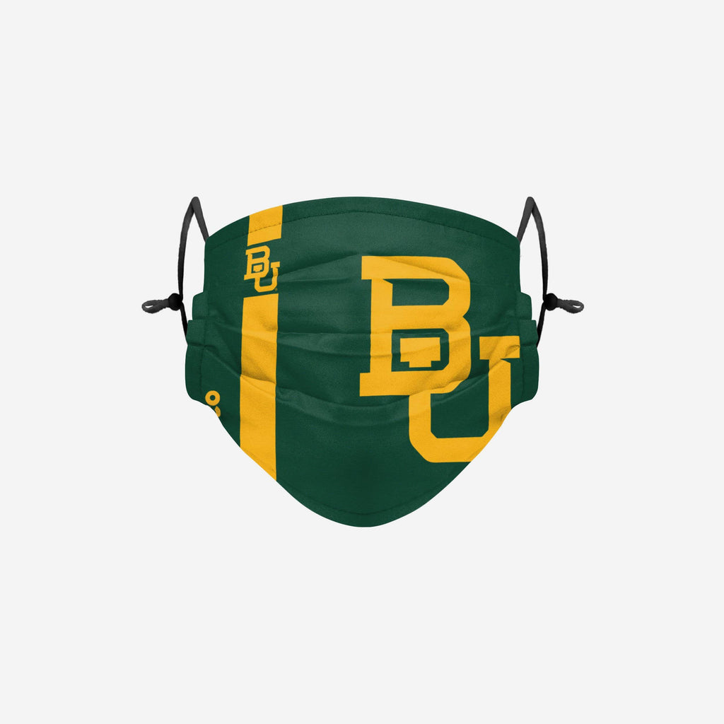 Baylor Bears On-Field Sideline Logo Face Cover FOCO - FOCO.com