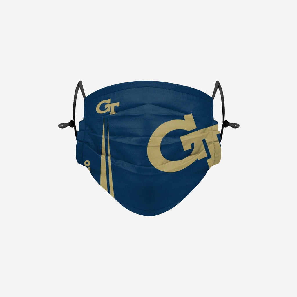 Georgia Tech Yellow Jackets On-Field Sideline Logo Face Cover FOCO - FOCO.com