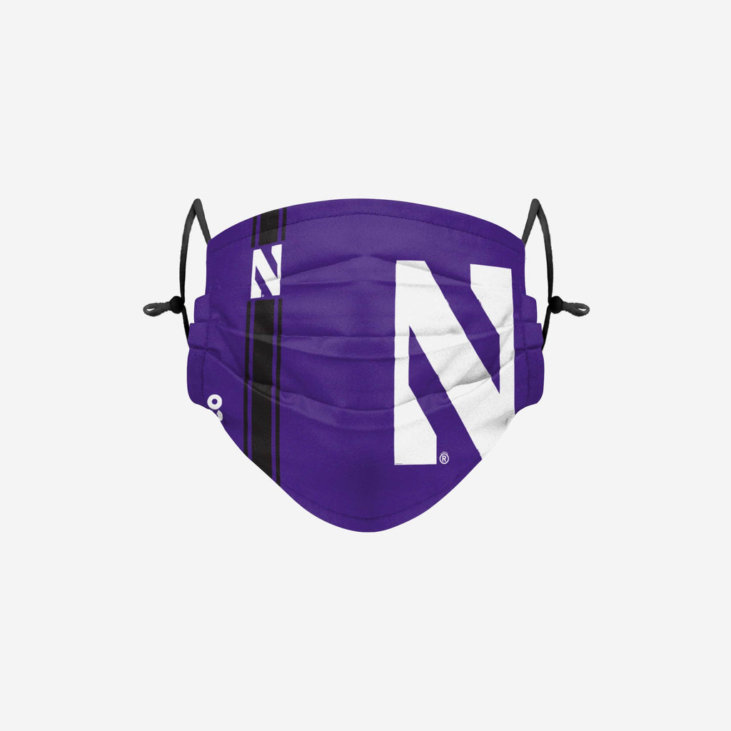 Northwestern Wildcats On-Field Sideline Logo Face Cover FOCO - FOCO.com