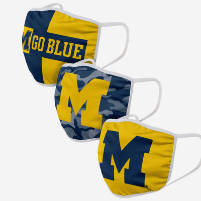 FOCO NCAA Michigan Wolverines All Star Bungie Cooler Sports Fan Home Decor Blue One Size