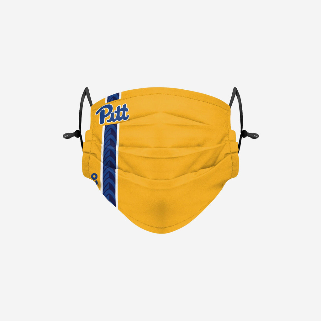 Pittsburgh Panthers On-Field Sideline Team Stripe Big Logo Face Cover FOCO - FOCO.com
