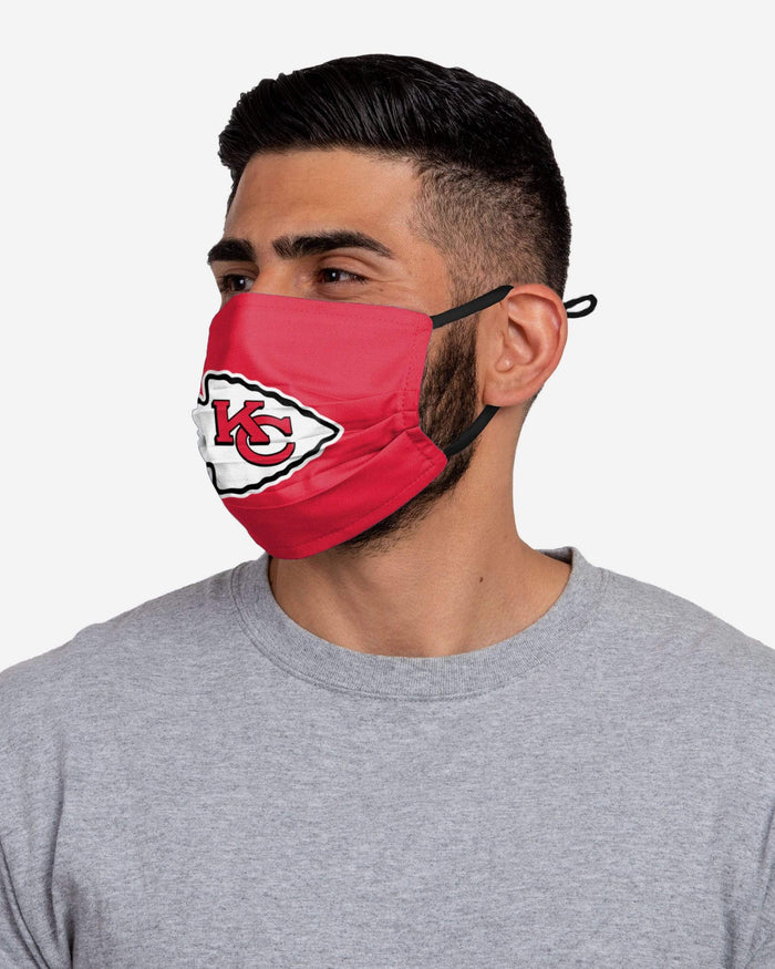 Kansas City Chiefs Super Bowl LV Adjustable 3 Pack Face Cover FOCO - FOCO.com