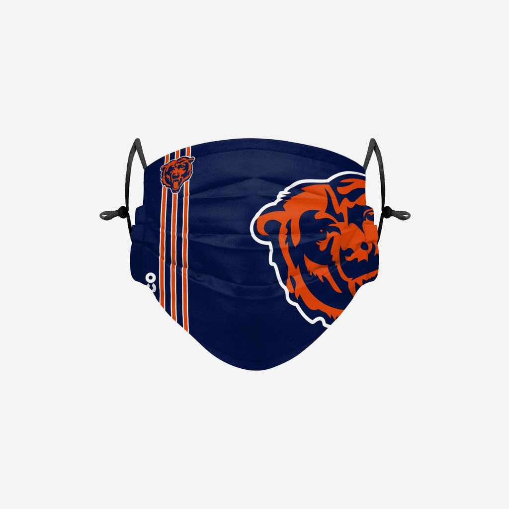 Chicago Bears On-Field Sideline Logo Face Cover FOCO Adult - FOCO.com