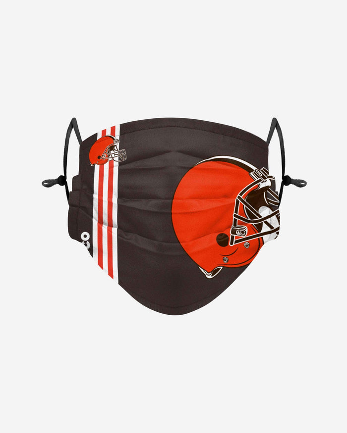 Cleveland Browns On-Field Sideline Logo Face Cover FOCO Adult - FOCO.com