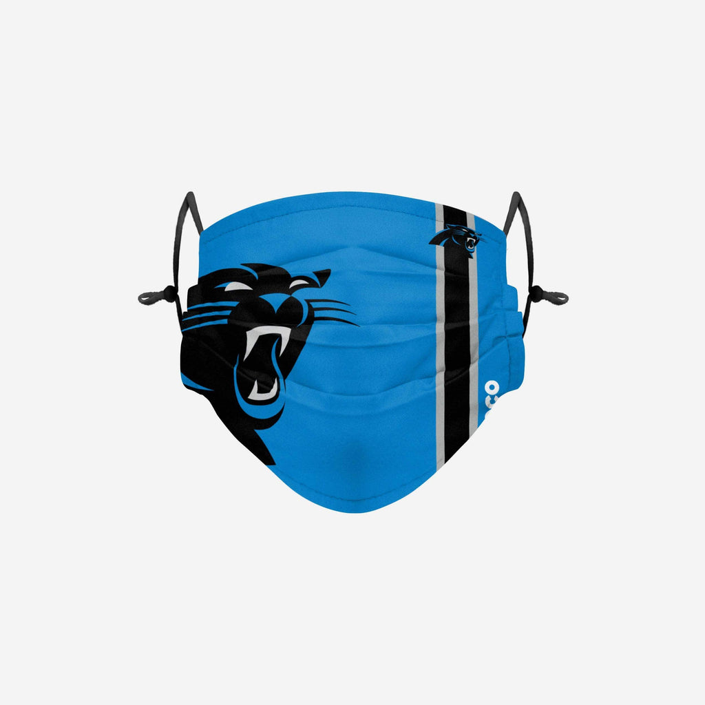 Carolina Panthers On-Field Sideline Logo Face Cover FOCO Adult - FOCO.com