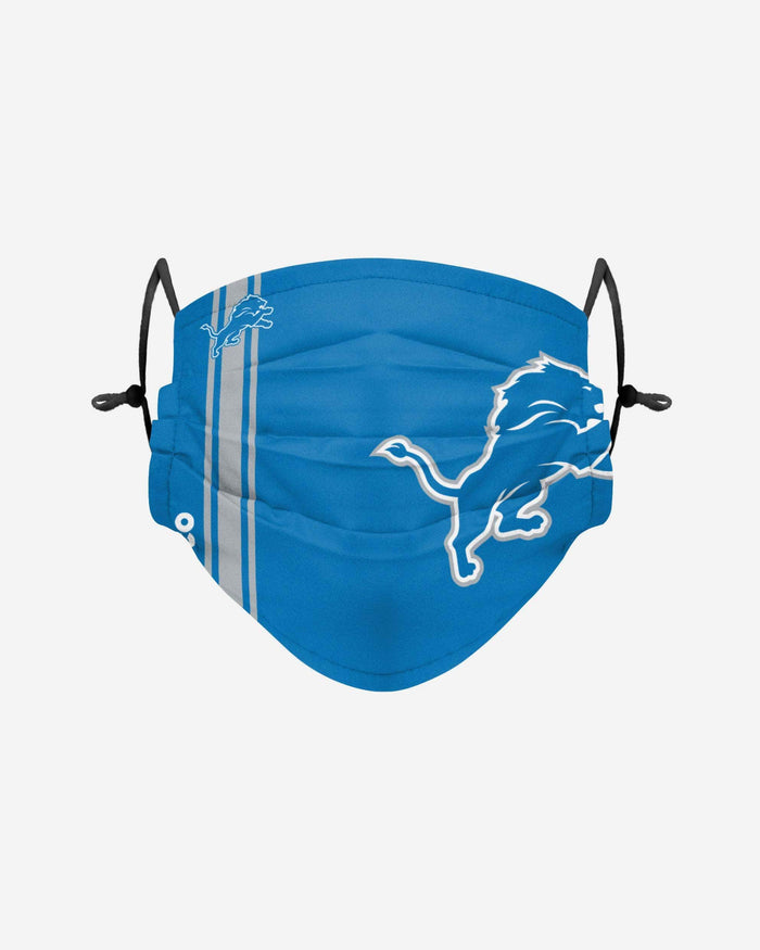 Detroit Lions On-Field Sideline Logo Face Cover FOCO Adult - FOCO.com