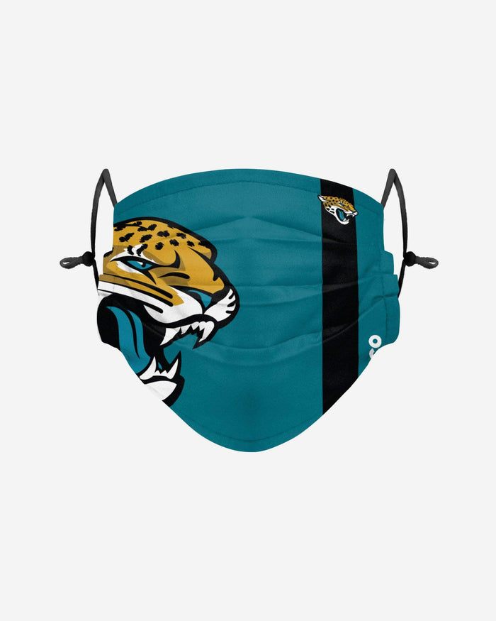 Jacksonville Jaguars On-Field Sideline Logo Face Cover FOCO Adult - FOCO.com