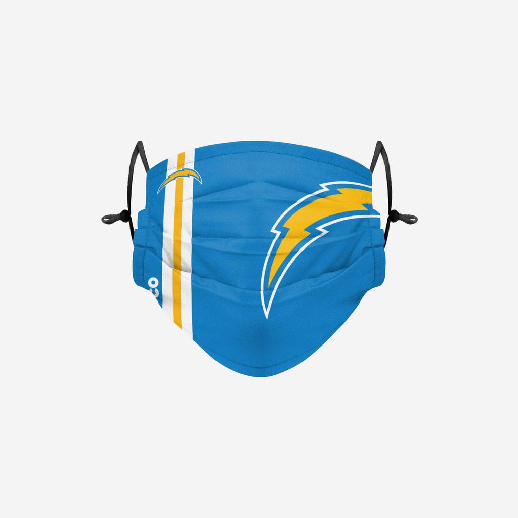 Los Angeles Chargers On-Field Sideline Logo Face Cover FOCO Adult - FOCO.com