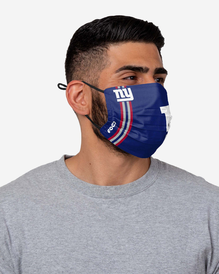 New York Giants On-Field Sideline Logo Face Cover FOCO - FOCO.com