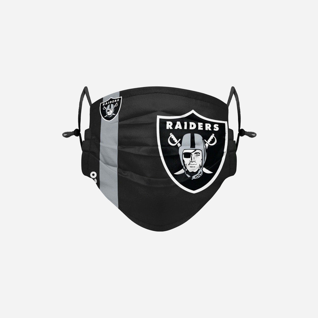 Las Vegas Raiders On-Field Sideline Logo Face Cover FOCO Adult - FOCO.com