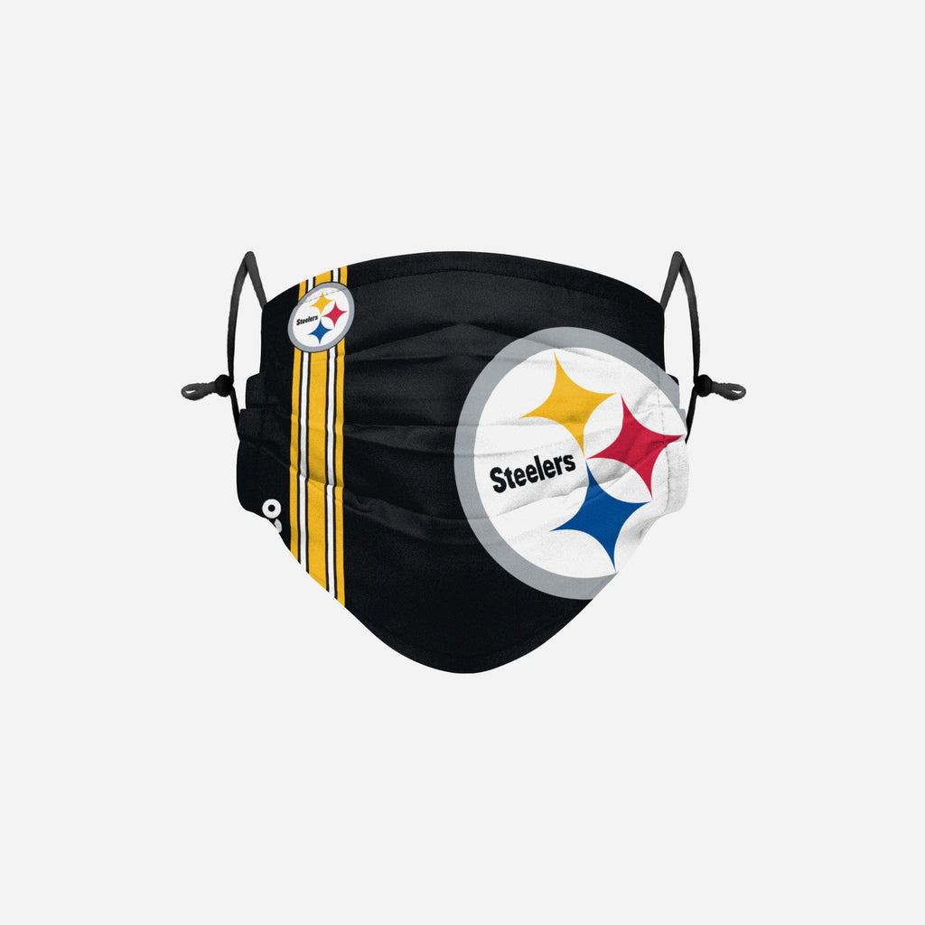 Pittsburgh Steelers On-Field Sideline Logo Face Cover FOCO Adult - FOCO.com