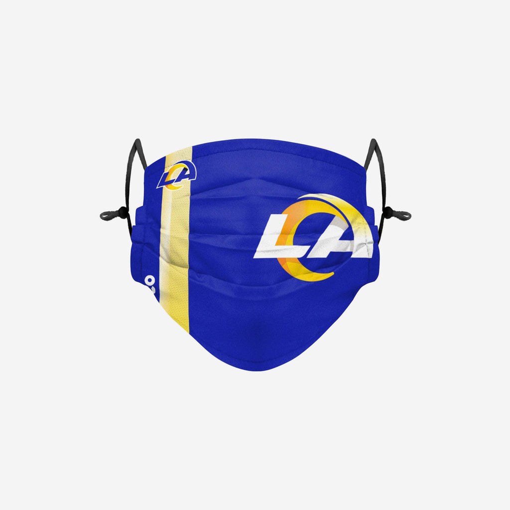 Los Angeles Rams On-Field Sideline Logo Face Cover FOCO Adult - FOCO.com