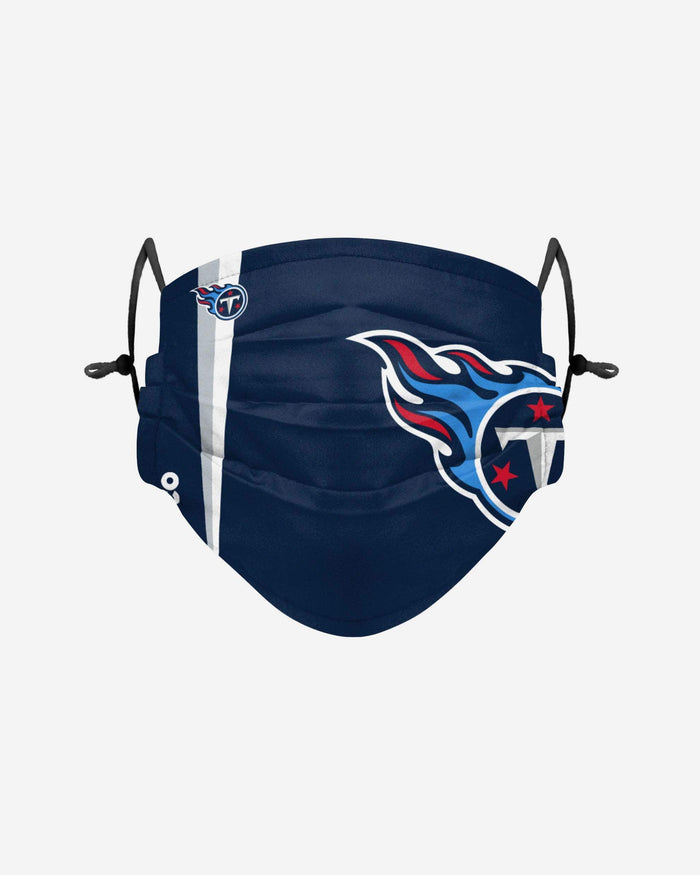 Tennessee Titans On-Field Sideline Logo Face Cover FOCO Adult - FOCO.com