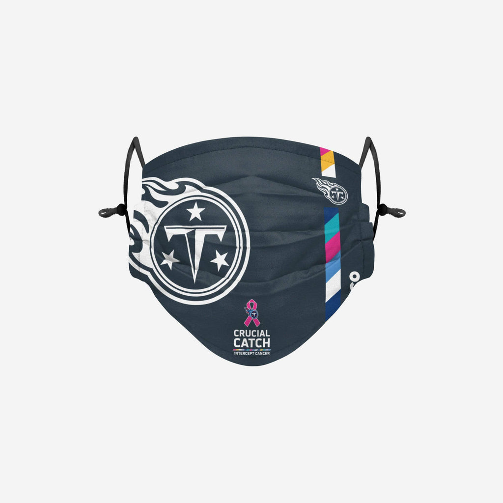 Tennessee Titans Crucial Catch Adjustable Face Cover FOCO - FOCO.com
