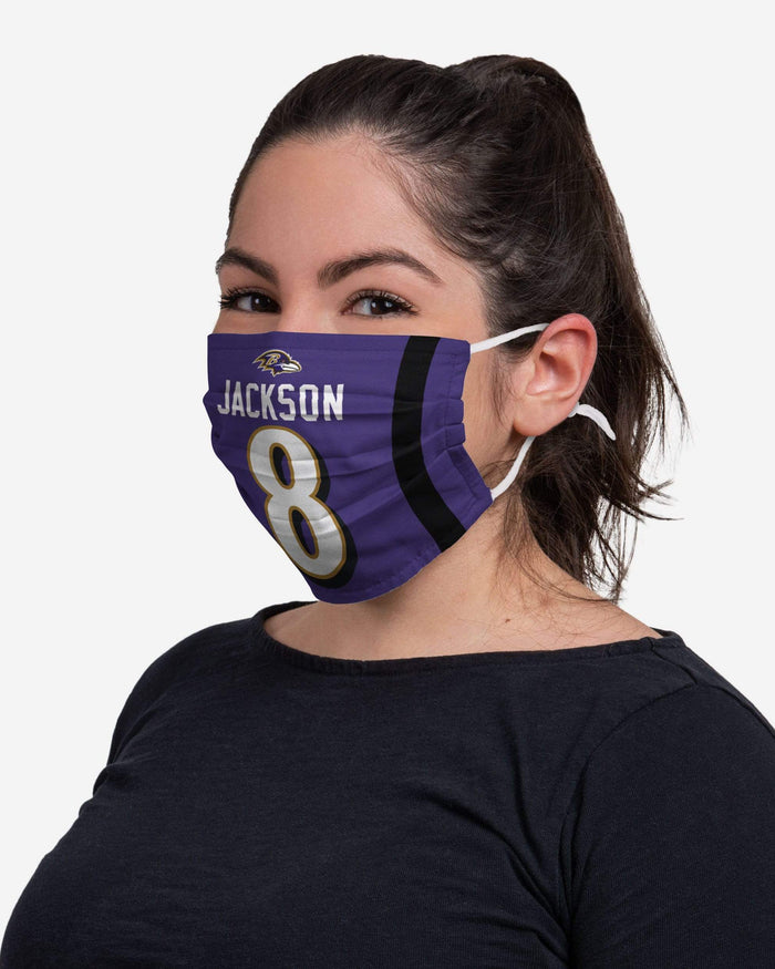 Lamar Jackson Baltimore Ravens Adjustable Face Cover FOCO - FOCO.com