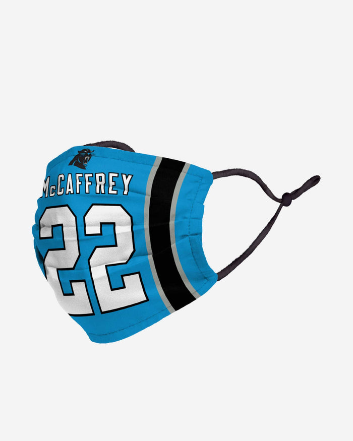 Christian McCaffrey Carolina Panthers Adjustable Face Cover FOCO - FOCO.com