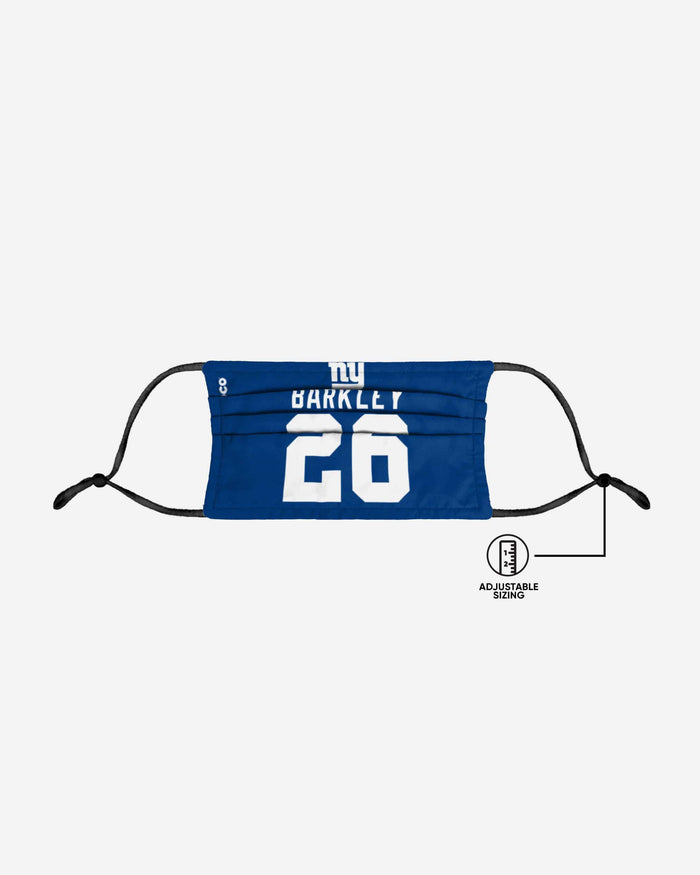 Saquon Barkley New York Giants Adjustable Face Cover FOCO - FOCO.com