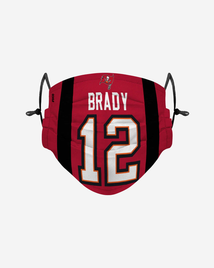 Tom Brady Tampa Bay Buccaneers Adjustable Face Cover FOCO - FOCO.com