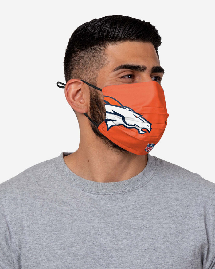 Courtland Sutton Denver Broncos On-Field Sideline Logo Face Cover FOCO - FOCO.com