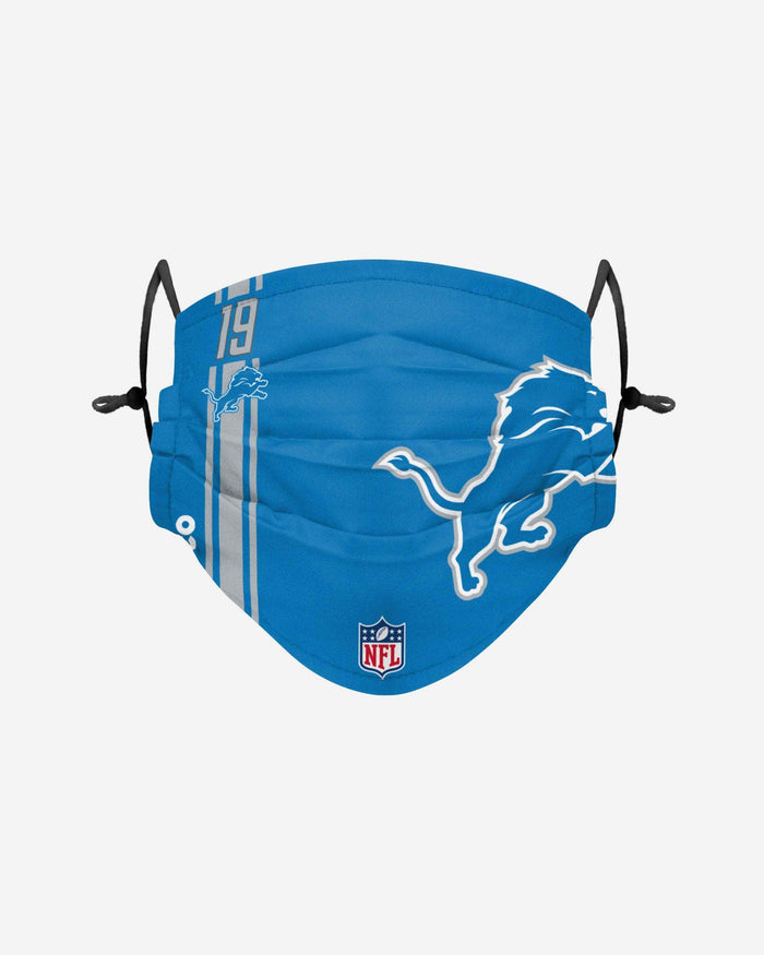 Kenny Golladay Detroit Lions On-Field Sideline Logo Face Cover FOCO - FOCO.com