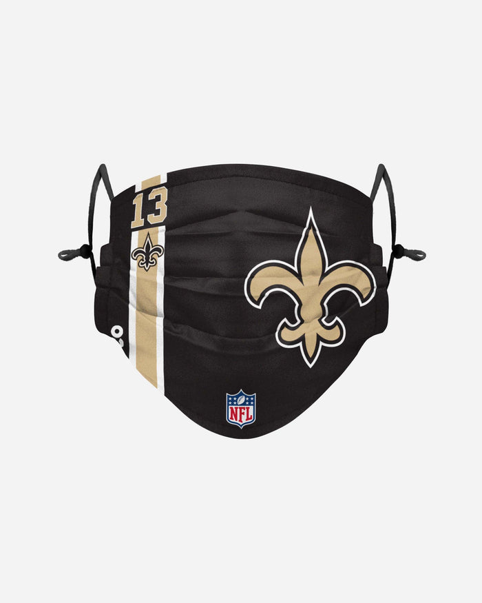 Michael Thomas New Orleans Saints On-Field Sideline Logo Face Cover FOCO - FOCO.com