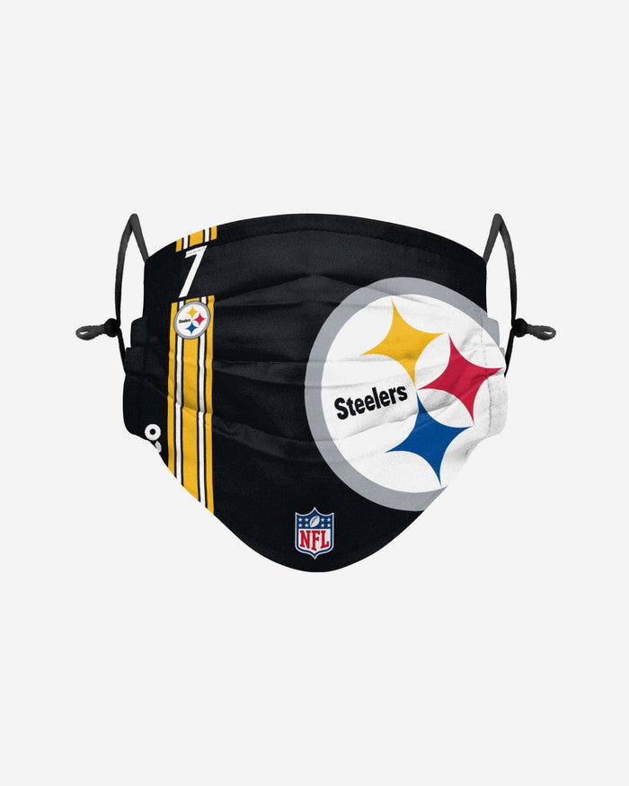 Ben Roethlisberger Pittsburgh Steelers On-Field Sideline Logo Face Cover FOCO - FOCO.com