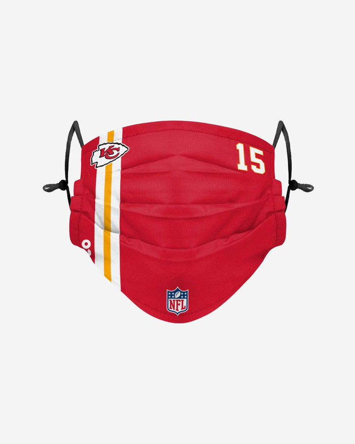 Patrick Mahomes Kansas City Chiefs On-Field Sideline Face Cover FOCO - FOCO.com