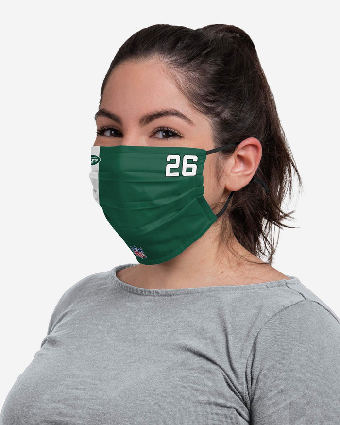 Le'Veon Bell New York Jets On-Field Sideline Face Cover FOCO - FOCO.com