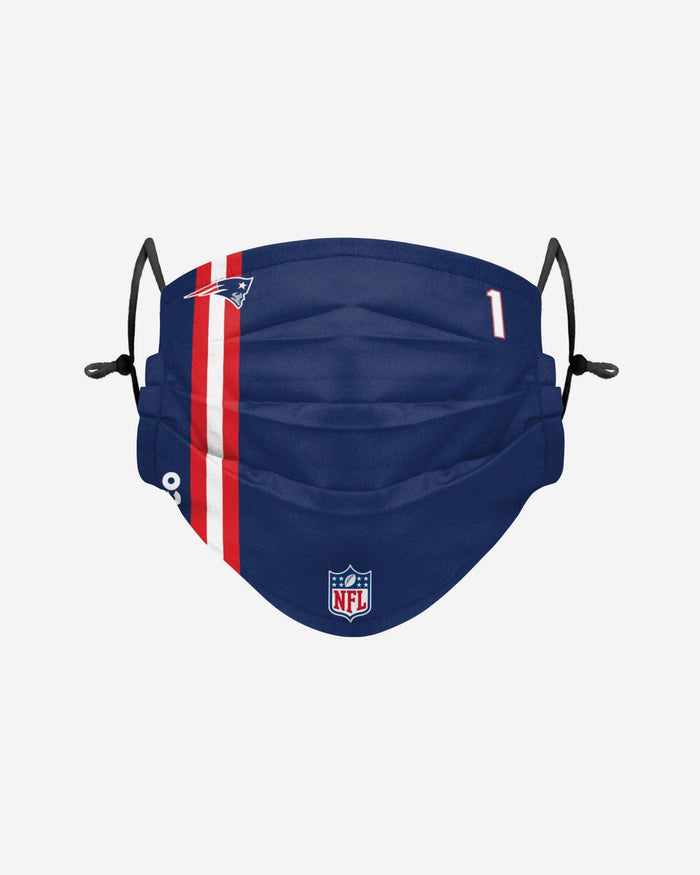 Cam Newton New England Patriots On-Field Sideline Face Cover FOCO - FOCO.com