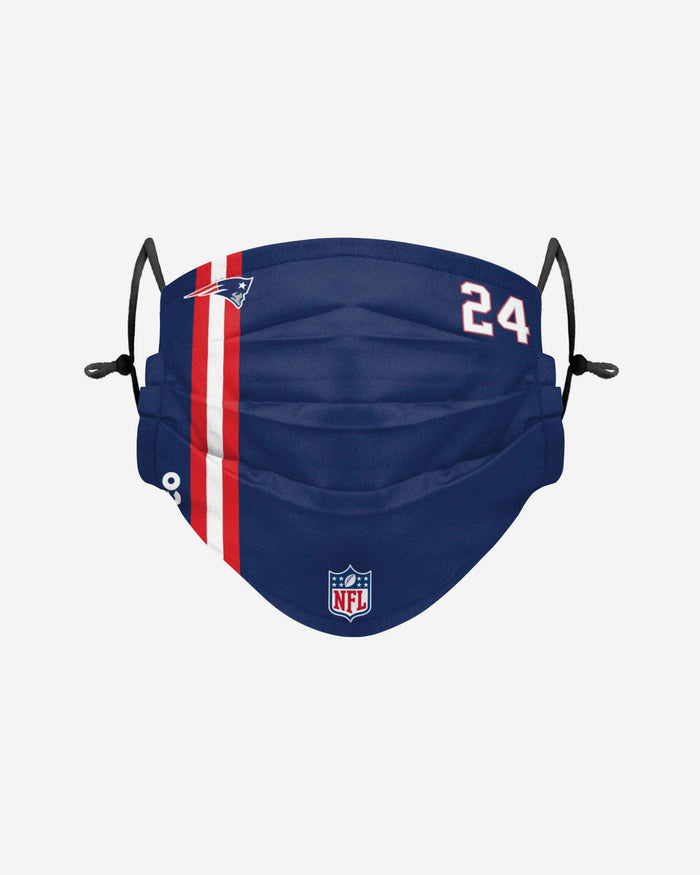 Stephon Gilmore New England Patriots On-Field Sideline Face Cover FOCO - FOCO.com