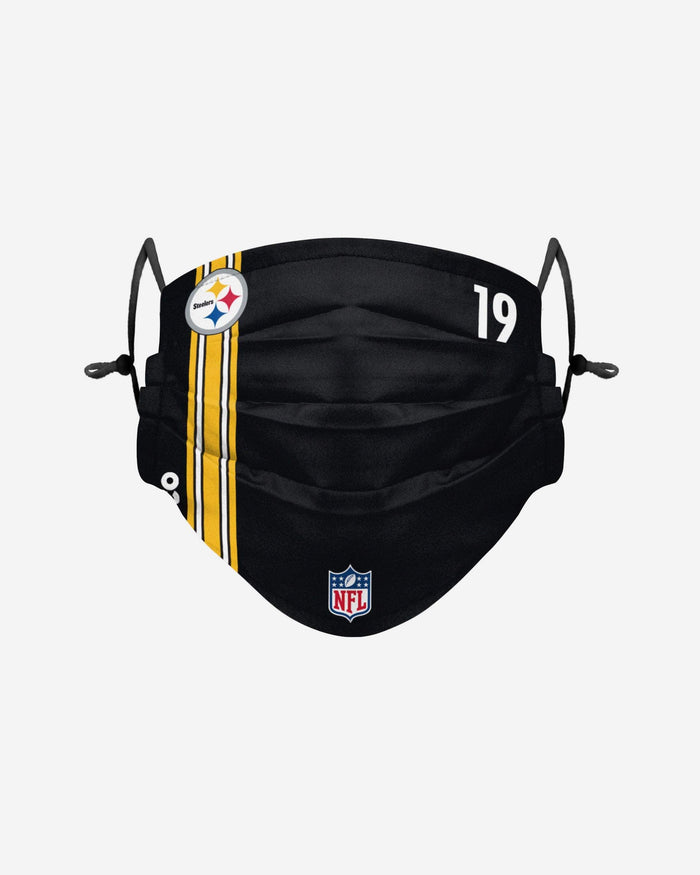 Juju Smith-Schuster Pittsburgh Steelers On-Field Sideline Face Cover FOCO - FOCO.com