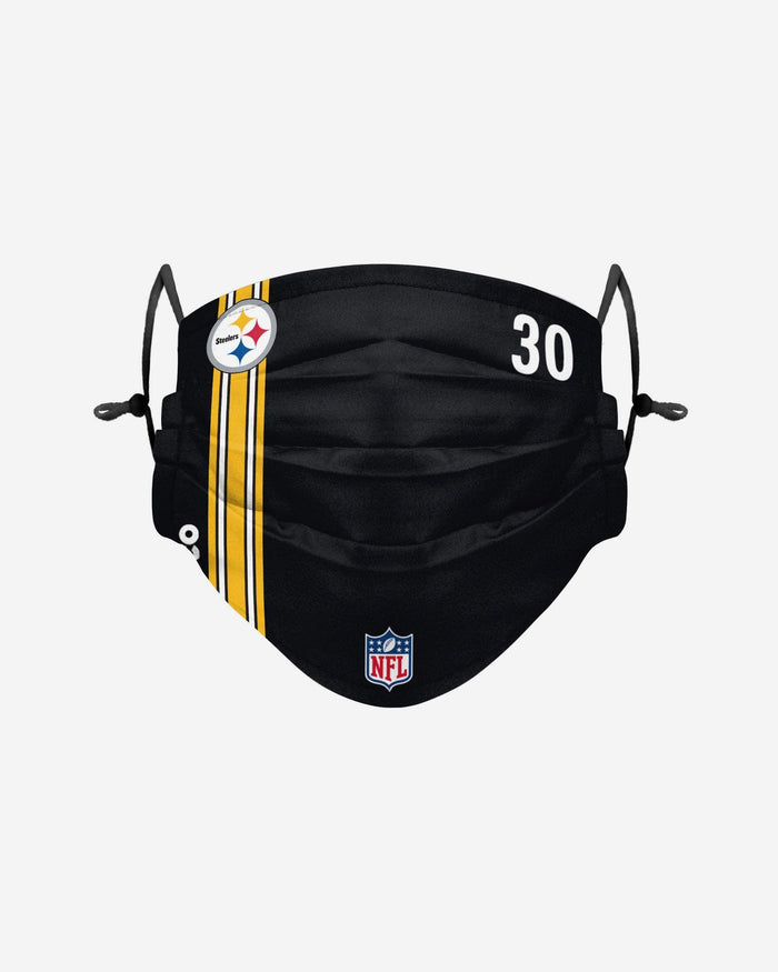 James Connor Pittsburgh Steelers On-Field Sideline Face Cover FOCO - FOCO.com