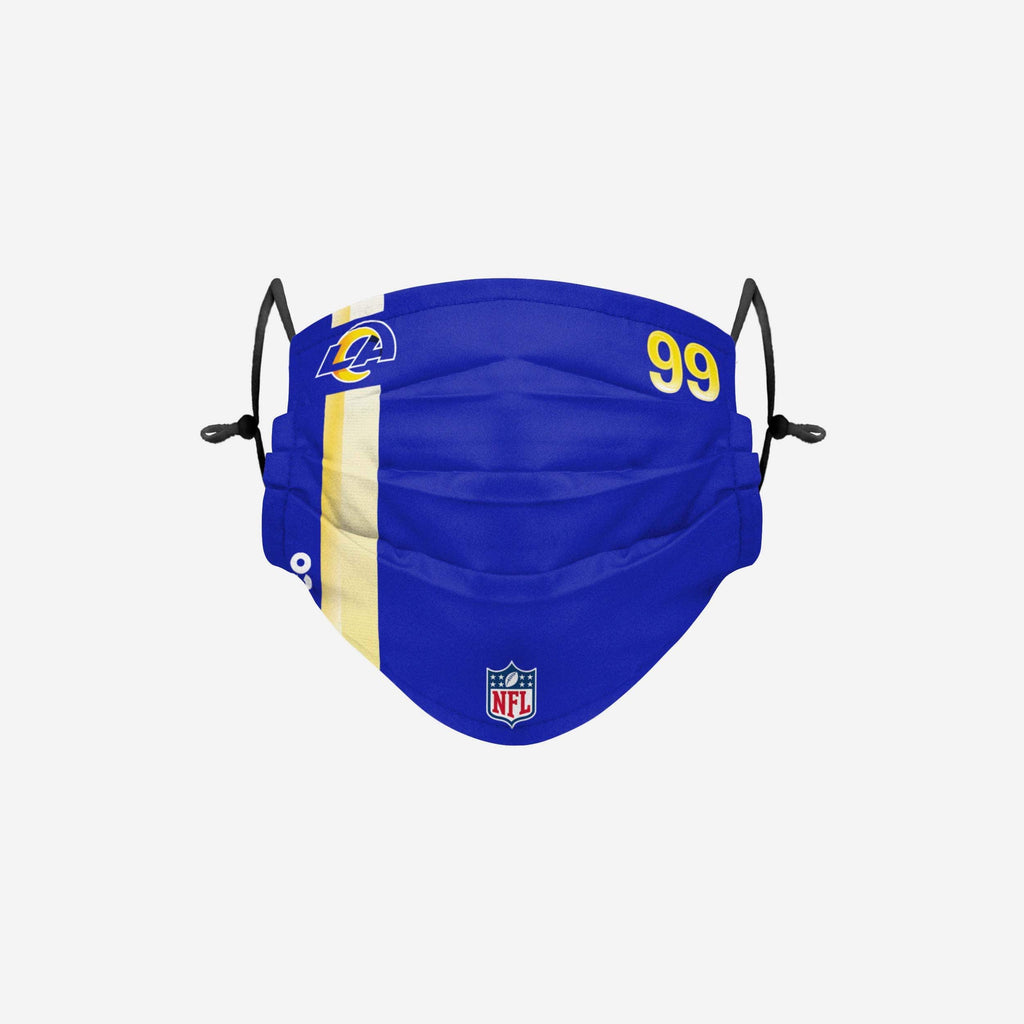 Aaron Donald Los Angeles Rams On-Field Sideline Face Cover FOCO - FOCO.com