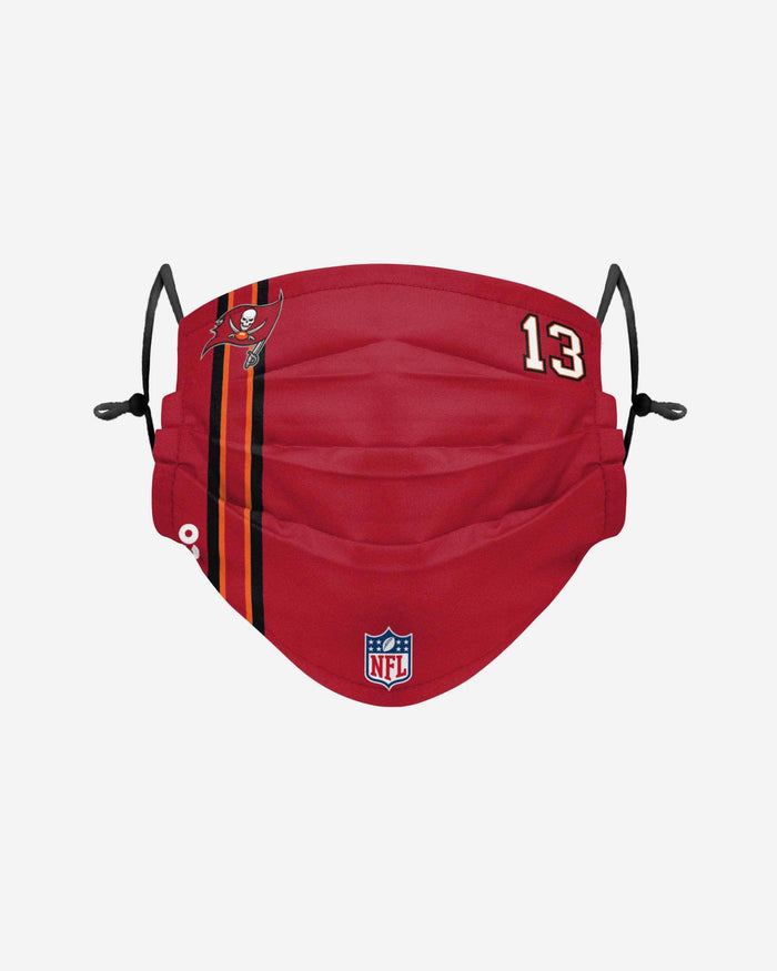 Mike Evans Tampa Bay Buccaneers On-Field Sideline Face Cover FOCO - FOCO.com