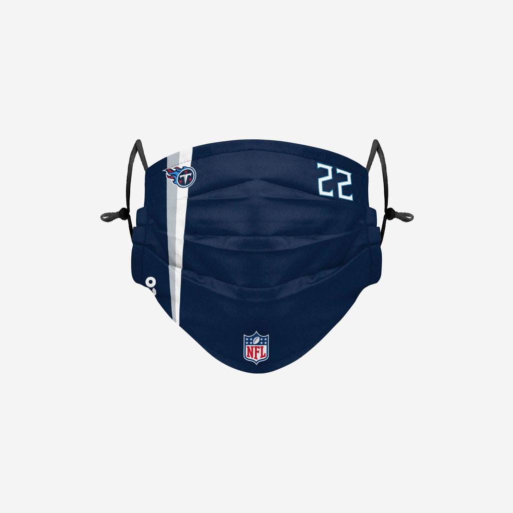 Derrick Henry Tennessee Titans On-Field Sideline Face Cover FOCO - FOCO.com
